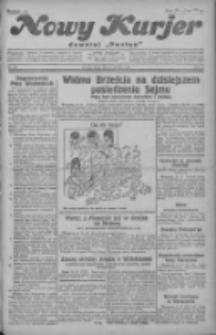 """Nowy Kurjer: dawniej """"Postęp"""" 1930.12.17 R.41 Nr291"""