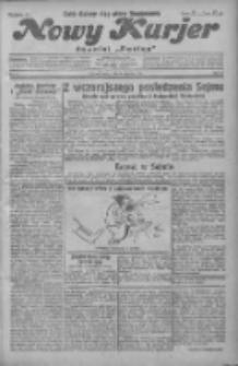 """Nowy Kurjer: dawniej """"Postęp"""" 1931.01.28 R.42 Nr22"""