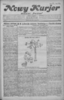 """Nowy Kurjer: dawniej """"Postęp"""" 1931.03.04 R.42 Nr51"""