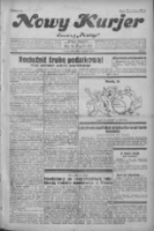 """Nowy Kurjer: dawniej """"Postęp"""" 1931.04.01 R.42 Nr75"""