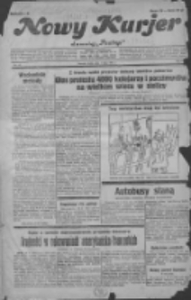 """Nowy Kurjer: dawniej """"Postęp"""" 1931.07.01 R.42 Nr148"""