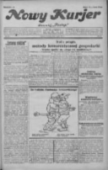 """Nowy Kurjer: dawniej """"Postęp"""" 1931.07.09 R.42 Nr155"""