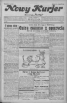 """Nowy Kurjer: dawniej """"Postęp"""" 1931.10.15 R.42 Nr238"""