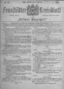 Fraustädter Kreisblatt. 1882.02.15 Nr13