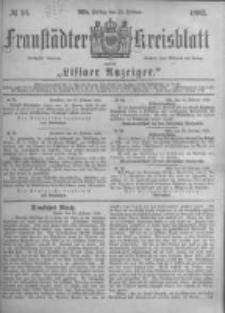 Fraustädter Kreisblatt. 1882.02.24 Nr16