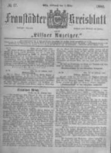 Fraustädter Kreisblatt. 1882.03.01 Nr17