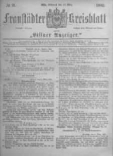 Fraustädter Kreisblatt. 1882.03.15 Nr21