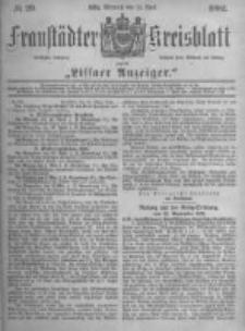 Fraustädter Kreisblatt. 1882.04.12 Nr29