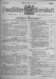 Fraustädter Kreisblatt. 1882.06.09 Nr46