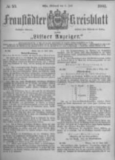 Fraustädter Kreisblatt. 1882.07.05 Nr53