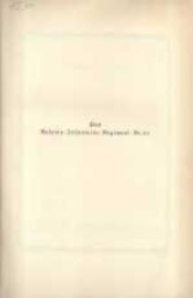Reserve-Infanterie-Rgt. Nr. 27 im Weltkriege 1914/1918