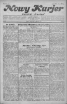 """Nowy Kurjer: dawniej """"Postęp"""" 1930.08.13 R.41 Nr186"""