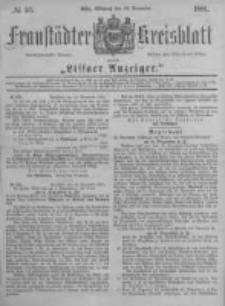 Fraustädter Kreisblatt. 1881.11.23 Nr56