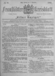 Fraustädter Kreisblatt. 1882.11.03 Nr88