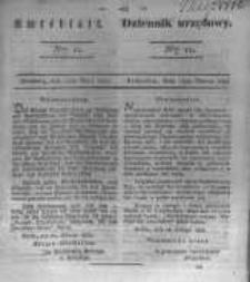Amtsblatt der Königlichen Preussischen Regierung zu Bromberg. 1834.03.14 No.11