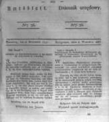 Amtsblatt der Königlichen Preussischen Regierung zu Bromberg. 1837.09.08 No.36