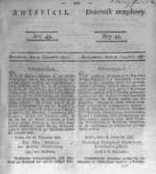 Amtsblatt der Königlichen Preussischen Regierung zu Bromberg. 1837.12.08 No.49