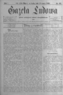 Gazeta Ludowa: pismo poświęcone ludowi ewangielickiemu. 1896.03.18 R.1 nr22