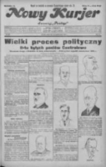 """Nowy Kurjer: dawniej """"Postęp"""" 1931.10.28 R.42 Nr249"""