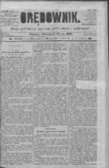 Orędownik: pismo poświęcone sprawom politycznym i spółecznym 1885.03.17 R.15 Nr62