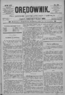 Orędownik: pismo poświęcone sprawom politycznym i spółecznym 1885.02.05 R.15 Nr28