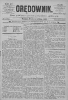 Orędownik: pismo poświęcone sprawom politycznym i spółecznym 1885.02.11 R.15 Nr33