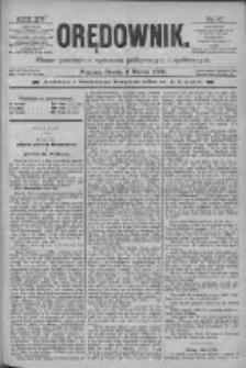 Orędownik: pismo poświęcone sprawom politycznym i spółecznym 1885.03.04 R.15 Nr51