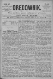 Orędownik: pismo poświęcone sprawom politycznym i spółecznym 1885.03.05 R.15 Nr52
