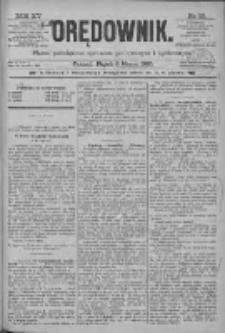 Orędownik: pismo poświęcone sprawom politycznym i spółecznym 1885.03.06 R.15 Nr53