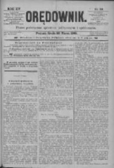 Orędownik: pismo poświęcone sprawom politycznym i spółecznym 1885.03.25 R.15 Nr69