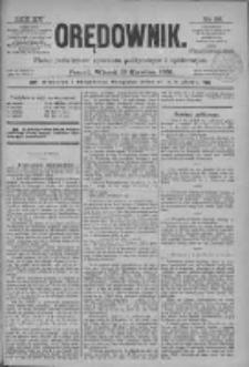 Orędownik: pismo poświęcone sprawom politycznym i spółecznym 1885.04.28 R.15 Nr96