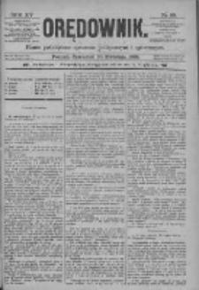 Orędownik: pismo poświęcone sprawom politycznym i spółecznym 1885.04.30 R.15 Nr98