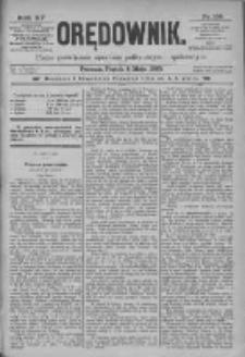 Orędownik: pismo poświęcone sprawom politycznym i spółecznym 1885.05.08. R.15 Nr105