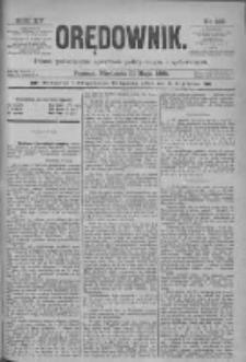 Orędownik: pismo poświęcone sprawom politycznym i spółecznym 1885.05.31 R.15 Nr122