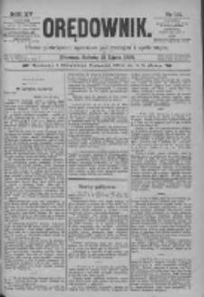 Orędownik: pismo poświęcone sprawom politycznym i spółecznym 1885.07.18 R.15 Nr161