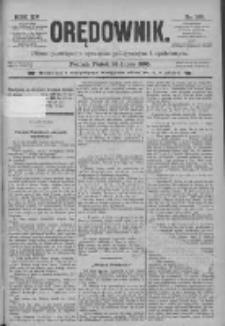 Orędownik: pismo poświęcone sprawom politycznym i spółecznym 1885.07.24 R.15 Nr166