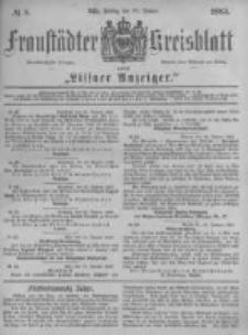 Fraustädter Kreisblatt. 1883.01.26 Nr8