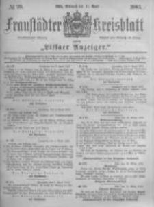 Fraustädter Kreisblatt. 1883.04.11 Nr29