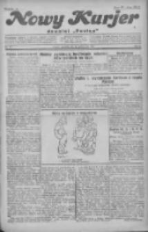 """Nowy Kurjer: dawniej """"Postęp"""" 1930.10.12 R.41 Nr237"""