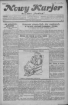 """Nowy Kurjer: dawniej """"Postęp"""" 1931.01.14 R.42 Nr10"""