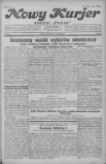 """Nowy Kurjer: dawniej """"Postęp"""" 1930.09.17 R.41 Nr215"""