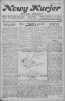 """Nowy Kurjer: dawniej """"Postęp"""" 1930.10.08 R.41 Nr233"""
