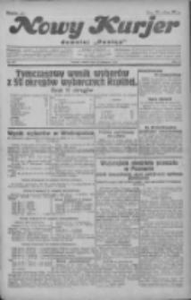 """Nowy Kurjer: dawniej """"Postęp"""" 1930.11.18 R.41 Nr267"""
