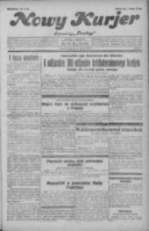 """Nowy Kurjer: dawniej """"Postęp"""" 1931.08.21 R.42 Nr191"""
