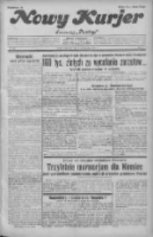 """Nowy Kurjer: dawniej """"Postęp"""" 1931.10.08 R.42 Nr232"""