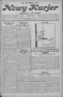 """Nowy Kurjer: dawniej """"Postęp"""" 1930.05.28 R.41 Nr123"""