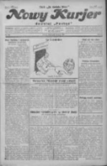 """Nowy Kurjer: dawniej """"Postęp"""" 1930.07.23 R.41 Nr168"""