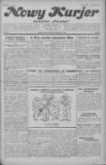 """Nowy Kurjer: dawniej """"Postęp"""" 1930.10.10 R.41 Nr235"""
