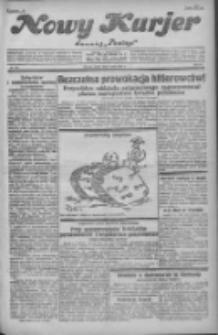 """Nowy Kurjer: dawniej """"Postęp"""" 1931.05.06 R.42 Nr104"""