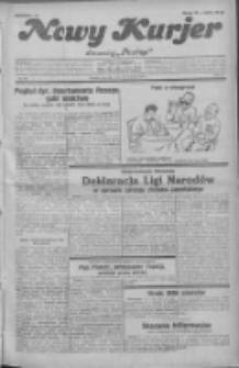 """Nowy Kurjer: dawniej """"Postęp"""" 1931.09.24 R.42 Nr220"""